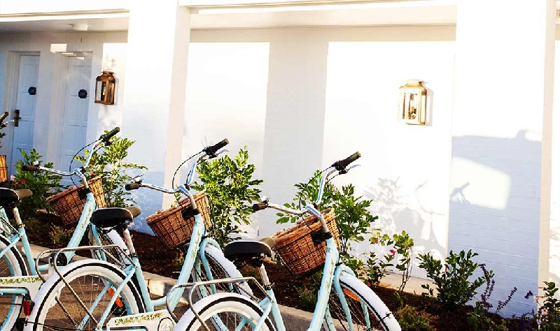 Bikes provided for your leisure | HALCYON HOUSE | NSW | Beach-Accommodation-Australia-Luxury-Travel-Guides